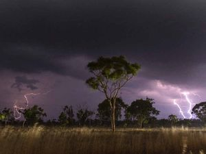 Safety first as CQ stormchasers capture weather drama