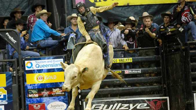 NO BULL: Troy Dunne's bull The Hump will feature at the PBR this weekend.