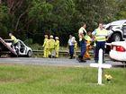 Women remain in hospital following two-car crash