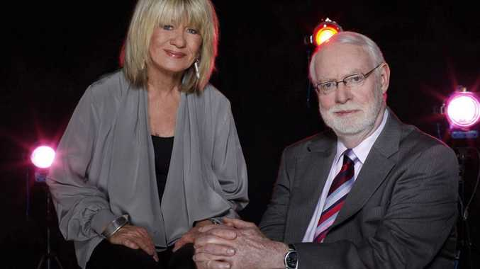 Margaret Pomeranz and David Stratton host the TV series At The Movies.