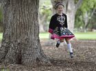 IRISH DANCER: Morgan McAleer loves Irish dance and looks forward to her weekly class. Irish Dancing classes to start in 2015. The new school will operate from St Luke's hall. Photo Bev Lacey / The Chronicle
