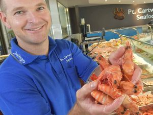 Decent prawns will be hard to come by for Christmas