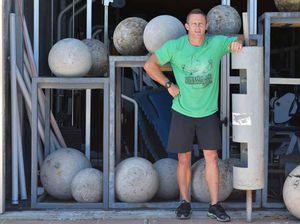 Coast man carries crown as Queensland's strongest