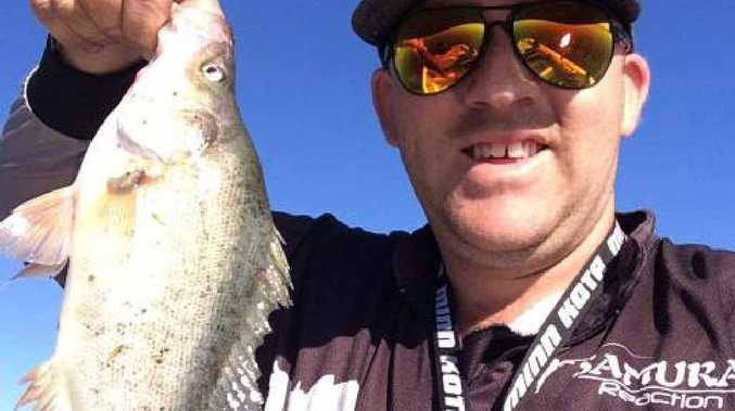 Rob Farrell landed this healthy Golden Perch recently.