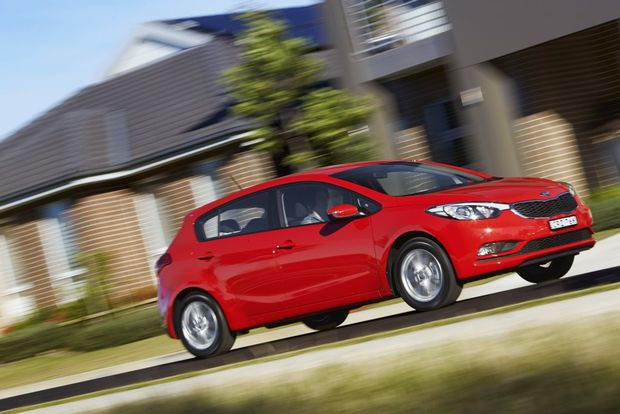 The MY15 Kia Cerato S Premium.
