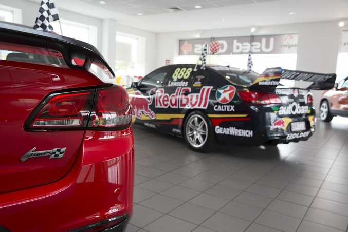 The Craig Lowndes SS V Special Edition.