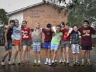Students from Rangeville State School are excited to finish school for 2014 (from left) Erin Fraser, Anyela Naumann, Cate Doran, James Banks, Dil Shanmikkelsen, Callum Banim, Sherece Ewing, Jai Gordon, Joshua Crow and Rourke Fisk-Walsh.