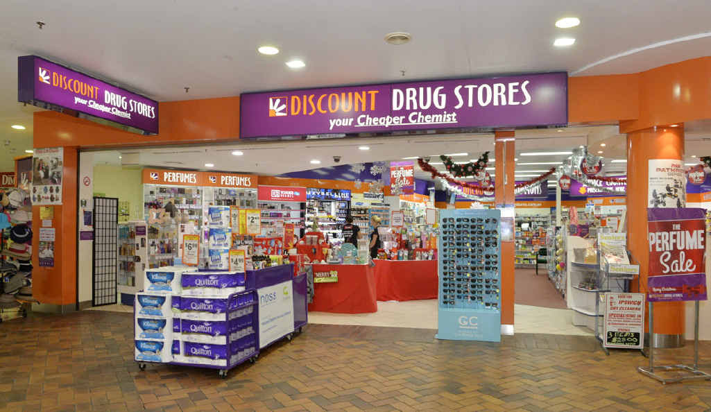MALL ATTACK: The owner of the Discount Drug Store in Ipswich Mall was assaulted.