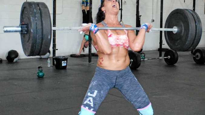 FIT AS: Amanda Allen is heading to Gladstone and Tannum Sands, which locals expect to be a huge boost and get even more people heading to CrossFit.