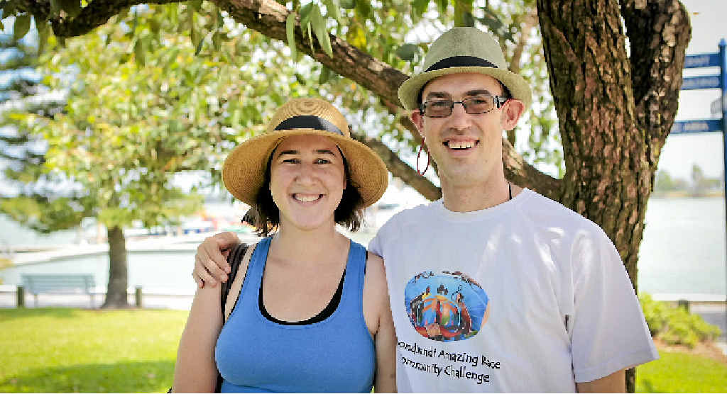 DEEP CALLS: Lauren Woolley and her brother Stuart drove for 20 hours to do their scuba course on Heron Island.
