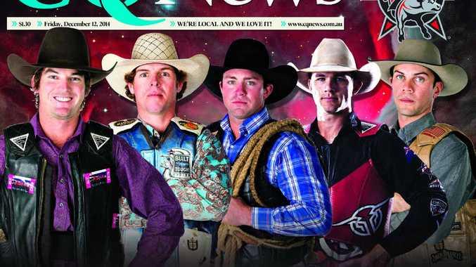 WILD RIDE: PBR stars Joe Polkinghorne, David Mason, Guy Ford, Dave Kennedy and Fraser Babbington.
