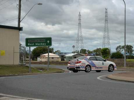 Police have closed off the Glenella Connection Road after a serious assault on a 73-year-old man.