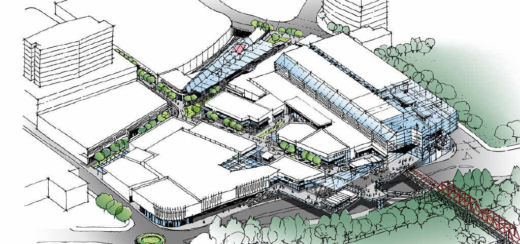 FUTURE VISION: Artist's impressions of how the Ipswich Mall and CBD will look after a $150 million redevelopment.