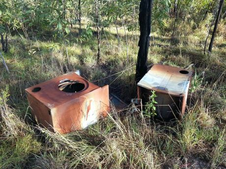Gladstone Regional  Council is investigating illegal dumping behind Tannum Sands State High School.