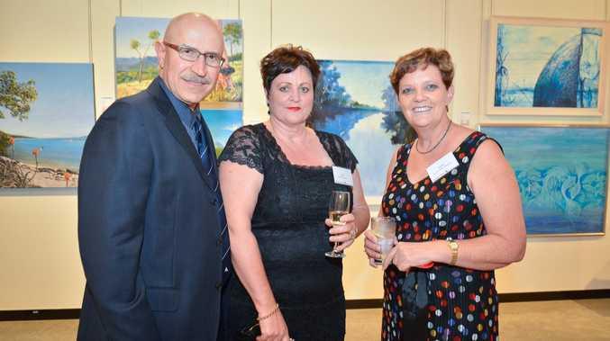 Joe and Jalna Rea with Joanne Johnston.