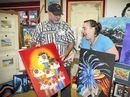 SOME of Gladstone's best local artistic talent was on display at Creative Gladstone's Christmas Open Day, with visitors streaming through the door on Saturday.