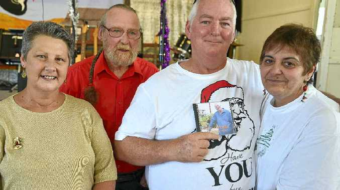 Bronnie Rene, Alan Taylor, Mal and Carol Lingard enjoyed the CD release and country music social.