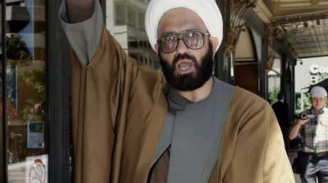 Man Monis, also known as Sheik Haron leaves the Downing Centre Local Court in central Sydney in 2010.