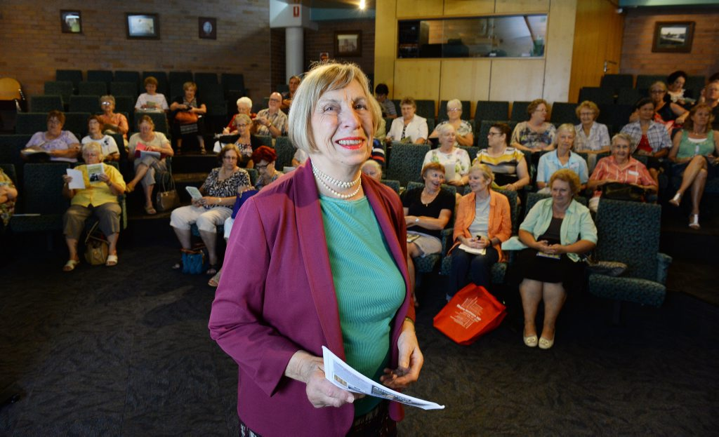UK family history expert Lady Mary Teviot was part of an information session for Ipswich people interested in researching their family history. Photo: Rob Williams / The Queensland Times