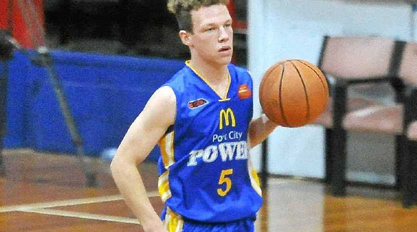 BIG FUTURE: Port City Power junior Dylan Owen is noticing his game rising constantly with the help of Derek Rucker, and is keen to see another leap when Michael Cedar arrives in Gladstone.