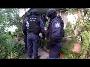 Dawn police raids in Ballina target local chapter of the Rebels outlaw motorcycle gang