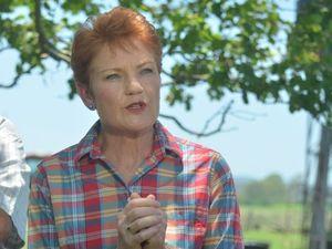 Pauline Hanson declares for Lockyer in Queensland election