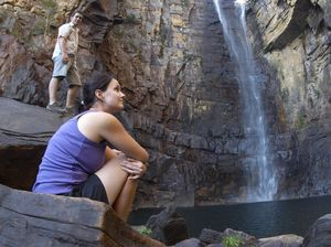 Cool off in a Northern Territory waterfall