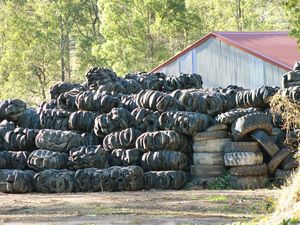 Brisbane council takes action on Kholo tyre pile