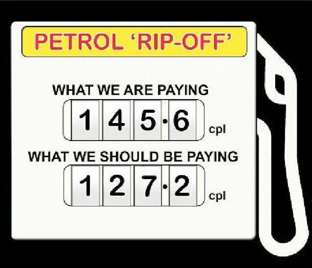 Toowoomba's great petrol rip-off.