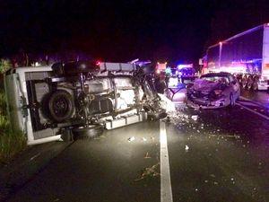 Gympie woman dies in horror highway crash at Pomona