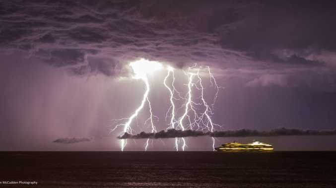 A thunderstorm is forecast for the Sunshine Coast for Thursday afternoon.