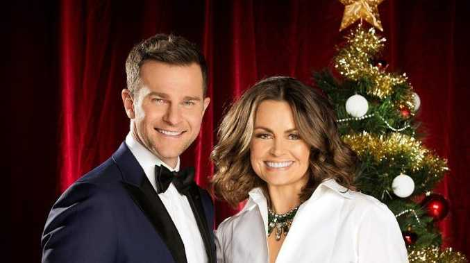 David Campbell and Lisa Wilkinson host Channel 9's 2014 Carols by Candlelight.