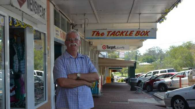 PROUD TOWN: Mark Smith said the town described by Melbourne writer Christopher Welldon was not one he recognised. Photo Barclay White / South Burnett Times