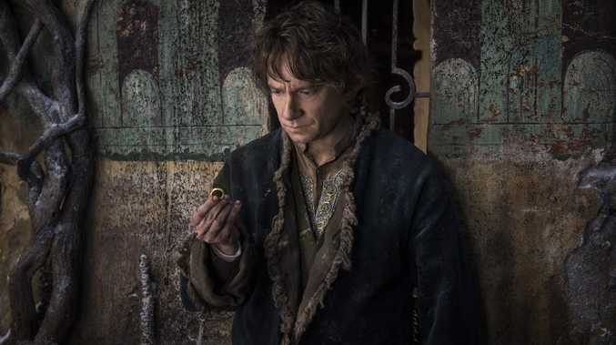 Martin Freeman as Bilbo Baggins in The Hobbit: The Battle of the Five Armies.