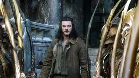 Luke Evans as Bard in The Hobbit: The Battle of the Five Armies.