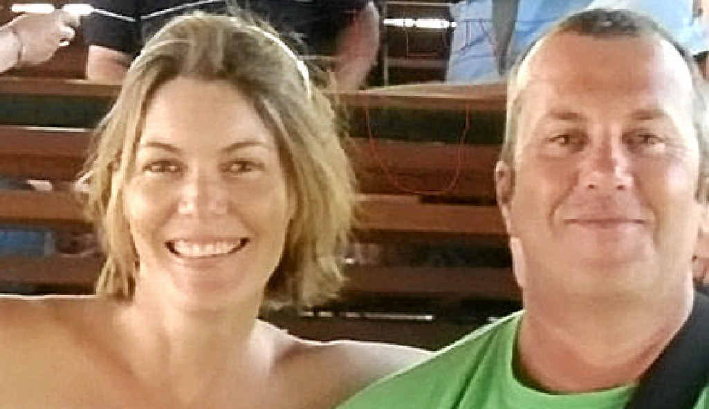 DISTRESSING: Robert Honan and partner Danielle Svensen are grateful for the support his family has had since his mother and sister were in the Sydney siege.