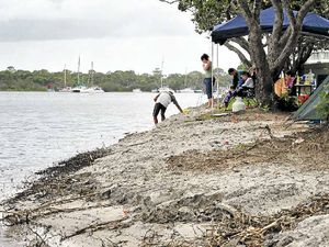 Project brings sand back to Munna Point