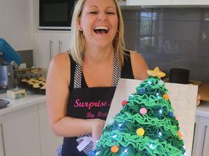 7kg Christmas tree cake a tasty festive treat