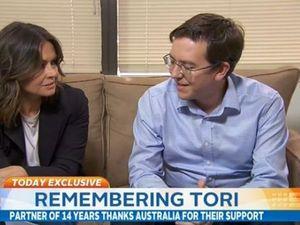 'Tori made Sydney smell like flowers': His partner speaks