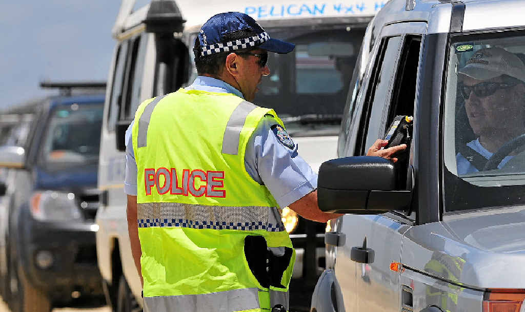 Police will again be conducting random breath tests on Noosa North Shore during the holidays.