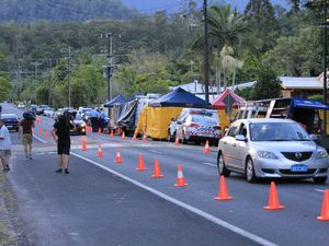 Manoora stabbing: Woman charged with murder
