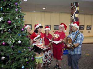Carols for hospital patients
