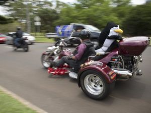 Toy run roars through streets