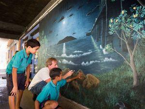Mural captures cultural pride