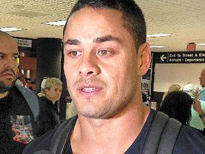 Visa issues see Jarryd 'Hayne Plane' grounded Down Under
