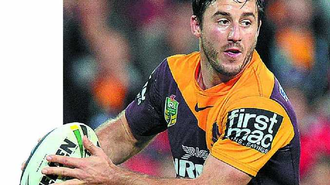 Broncos' Ben Hunt (pictured) has to form a partnership with Anthony Milford.