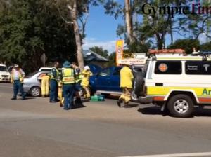 Police investigate Brisbane Rd crash