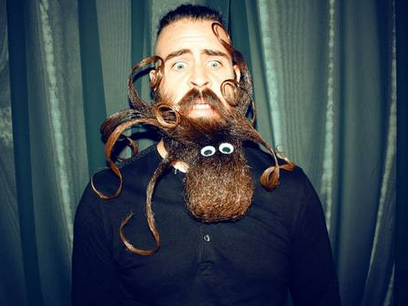 Beard, yes. Hipster, nobody knows.