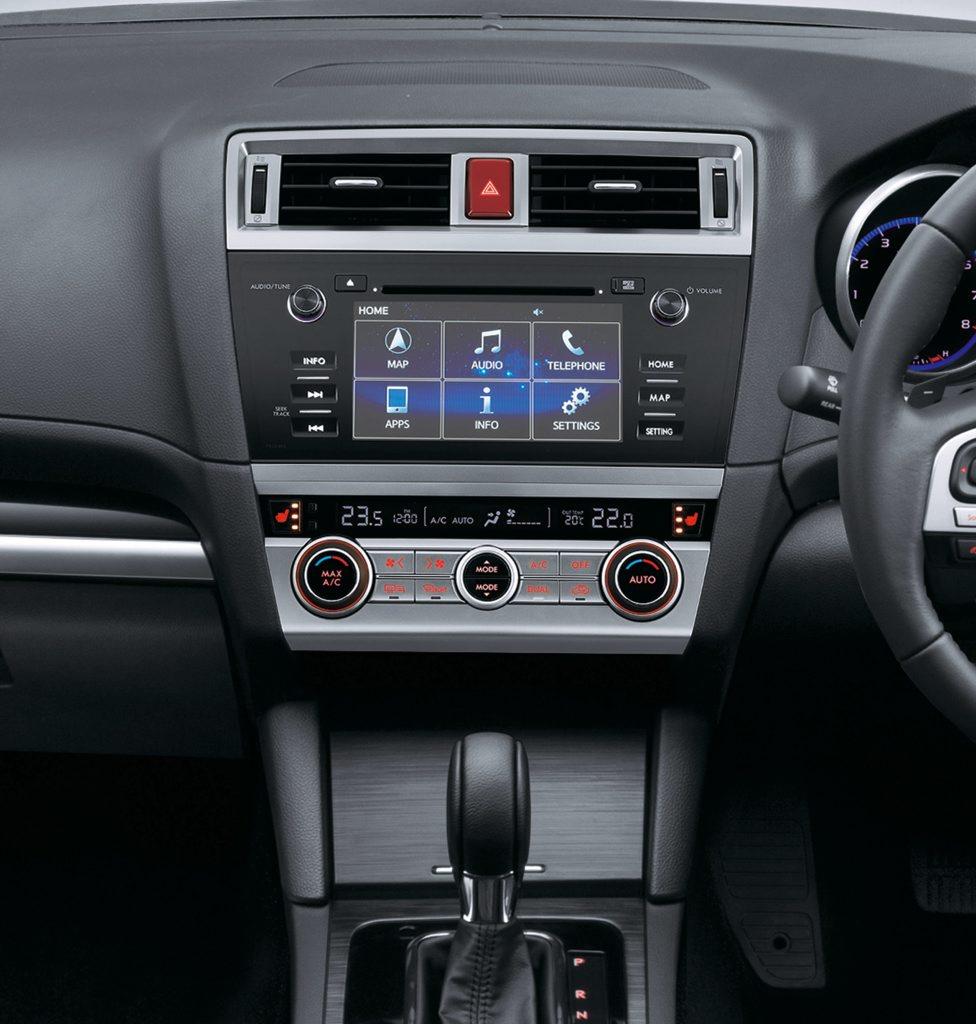 MY15 Subaru Outback premium interior
