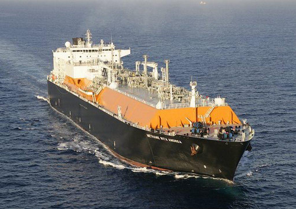 QGC LNG ship Methane Rita Andrea.